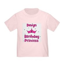 1st Birthday Princess Devyn T
