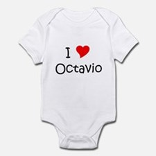 Cute I heart octavio Infant Bodysuit