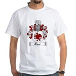 Mauri Family Crest White T-Shirt