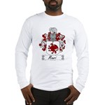 Mauri Family Crest Long Sleeve T-Shirt