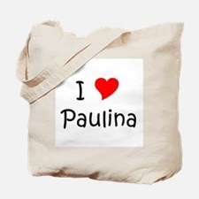 Cute Paulina Tote Bag