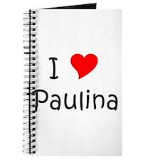 Cute Paulina Journal
