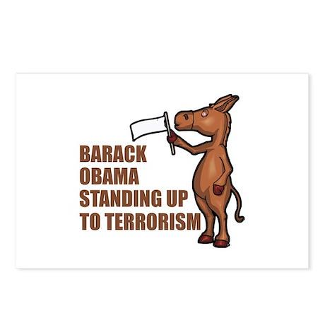 Anti-Obama War On Terror Postcards (Package of 8)