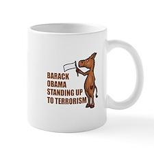 Anti-Obama War On Terror Mug