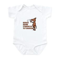 Anti-Obama War On Terror Infant Bodysuit