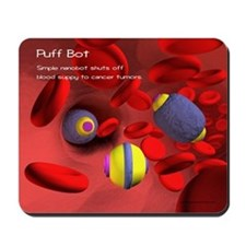 Puff Bot Mousepad