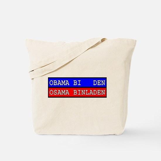 Obama-Biden : Osama Bin Laden Tote Bag