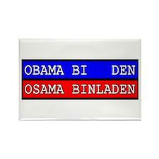 Obama-Biden : Osama Bin Laden Rectangle Magnet