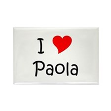 Paola Rectangle Magnet