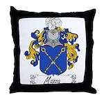 Mazza Family Crest Throw Pillow