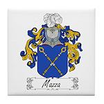 Mazza Family Crest Tile Coaster