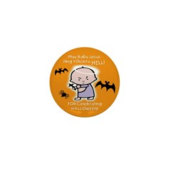 Baby Jesus Hates Halloween - Mini Button (10 pack)