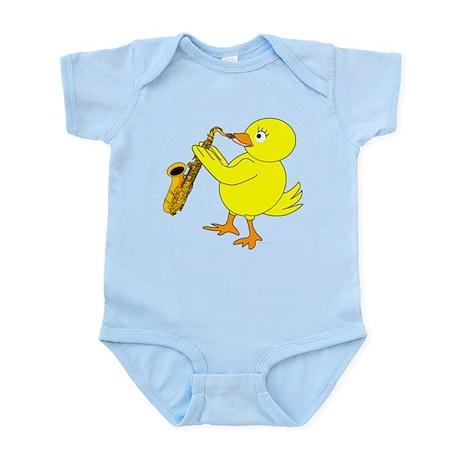 Sax Chick Infant Bodysuit