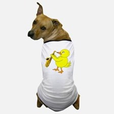 Sax Chick Dog T-Shirt