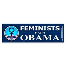 Feminists for Obama Bumper Stickers