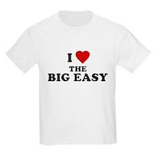 I Love [Heart] the Big Easy Kids T-Shirt