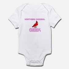 Northern Cardinal Geek Infant Bodysuit
