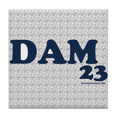 DAM23 Tile Coaster