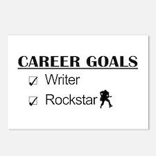 Writer Career Goals Rockstar Postcards (Package of