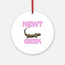 Newt Geek Ornament (Round)