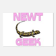Newt Geek Postcards (Package of 8)