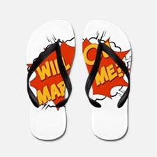 will you marry me? Flip Flops