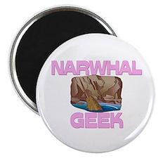 Narwhal Geek Magnet
