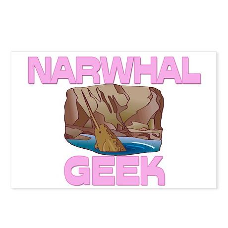Narwhal Geek Postcards (Package of 8)