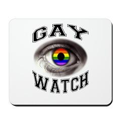 gay watch Mousepad