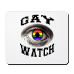 gay watch Mousepad