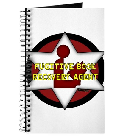 Fugitive Book Recovery Agent Journal