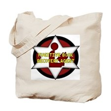Fugitive Book Recovery Agent Tote Bag