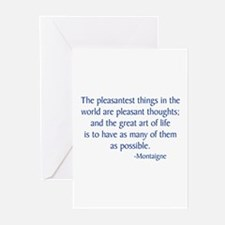 Montaigne Greeting Cards (Pk of 10)