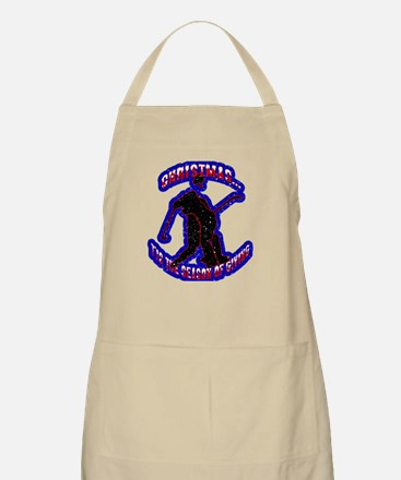 Puck Drop BBQ Apron