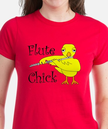 Flute Chick Tee