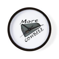 Cute More cowbell Wall Clock