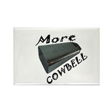 Cute More cowbell Rectangle Magnet