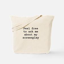 Screenplay Tote Bag