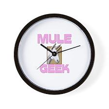 Mule Geek Wall Clock