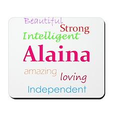 Alaina Personalized Mousepad