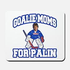 Goalie Moms for Palin Mousepad