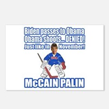 McCain Palin Denied Postcards (Package of 8)