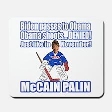 McCain Palin Denied Mousepad