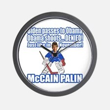 McCain Palin Denied Wall Clock