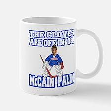 McCain Palin Gloves Are Off Mug