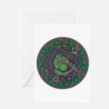 Earth Mother Mandala Greeting Card