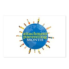 Attachment Parenting Month Postcards (Package of 8