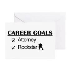 Attorney Career Goals Rocksta Greeting Cards (Pk o