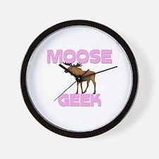 Moose Geek Wall Clock
