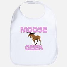 Moose Geek Bib